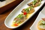 絶品!広島産牡蠣のオリーブオイル漬け。