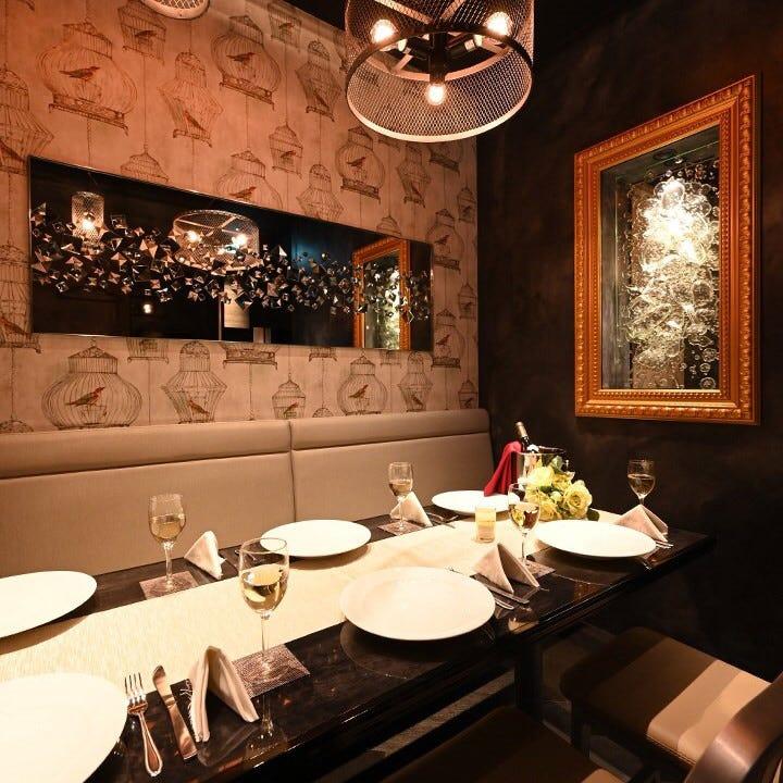 有名デザイナー監修◆全席完全個室