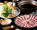 かも鍋(〆の雑炊も絶品)