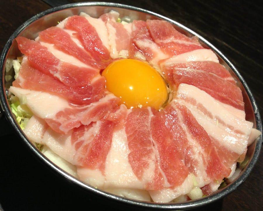 ぶた肉たっぷり♪豚増量玉