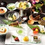 会席料理【舞扇-まいおうぎ-】〈全15品〉7,000円(税抜)