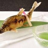 旬魚の焼き物