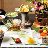 会席料理【羽衣-はごろも-】〈全14品〉5,000円(税抜)