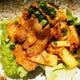 スタミナアップに豚キムチ炒めです。