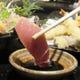 石川県から仕入れている甘めの醤油がお刺身によく合います。