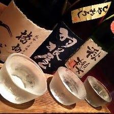 ■全国蔵元から拘りの地酒20種以上■