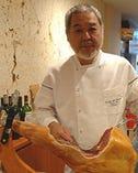 日本フランス料理技術組合理事 嘉手川重利シェフ