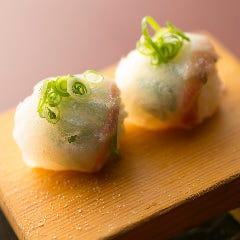 人気ナンバー3★鯛とネギの柚子塩風味