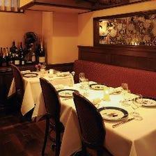 ◆異国情緒漂う3フロアでお食事を…