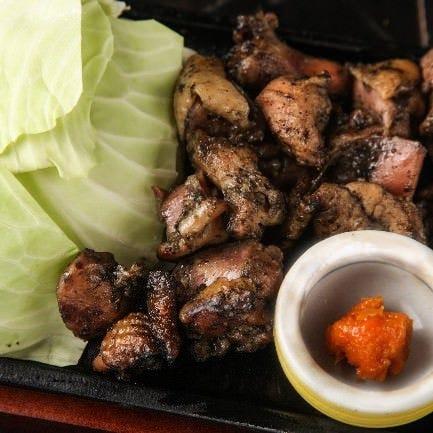 人気筆頭!宮崎炙り・鶏のゴロ焼き