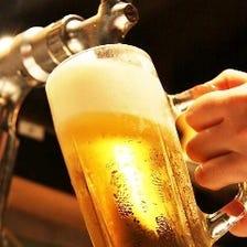 生ビールもOKの飲み放題299円/30分