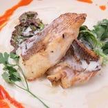 HIGAWARI シェフおすすめ魚料理