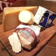 イタリアチーズを10種以上セレクト