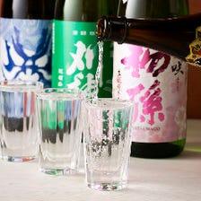 料理に合わせて選べる日本酒