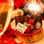 誕生日や記念日に♪デザート盛り合わせを無料贈呈♪