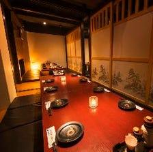 【席のみ予約】◆完全個室・個室◆~いつでも個室がNET予約可能:個室エリア 2~最大80名