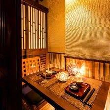 ■全席完全個室!何名様でも個室飲み