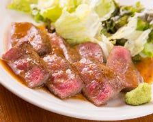 美味しいお肉も楽しめます!