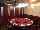 中華の円卓個室
