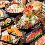 【2H飲み放題付】海鮮カルパッチョと豆腐ゴマサラダ!5480コース※料理のみ3500円【4名様以上より】