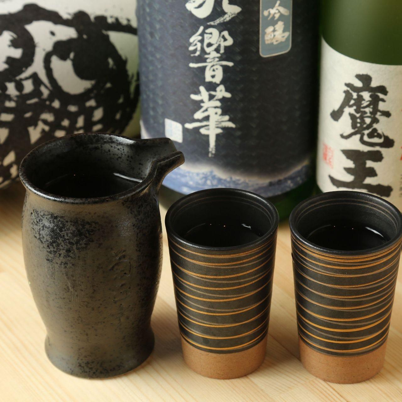 お寿司・和食に合う厳選地酒の数々