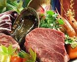 特選広島牛ヒレステーキがついた 贅沢コースがオススメ!