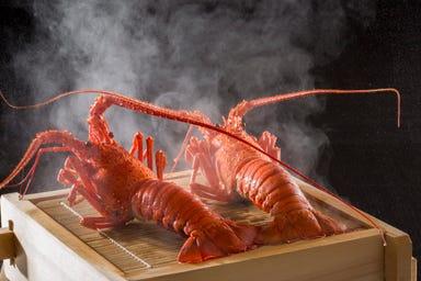 伊勢海老 海鮮蒸し料理 華月  こだわりの画像