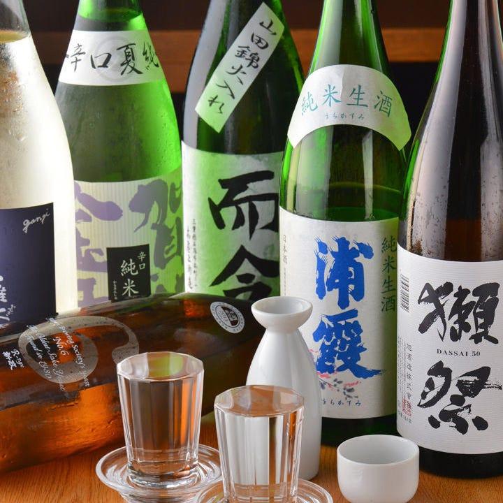 銘酒・レア酒など地酒多数!