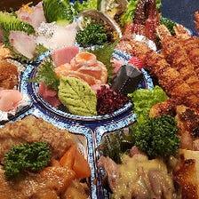 家で楽しむ和食屋のオードブル