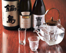 料理と相性のいい銘酒を常備
