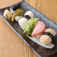 京都のお漬物寿司