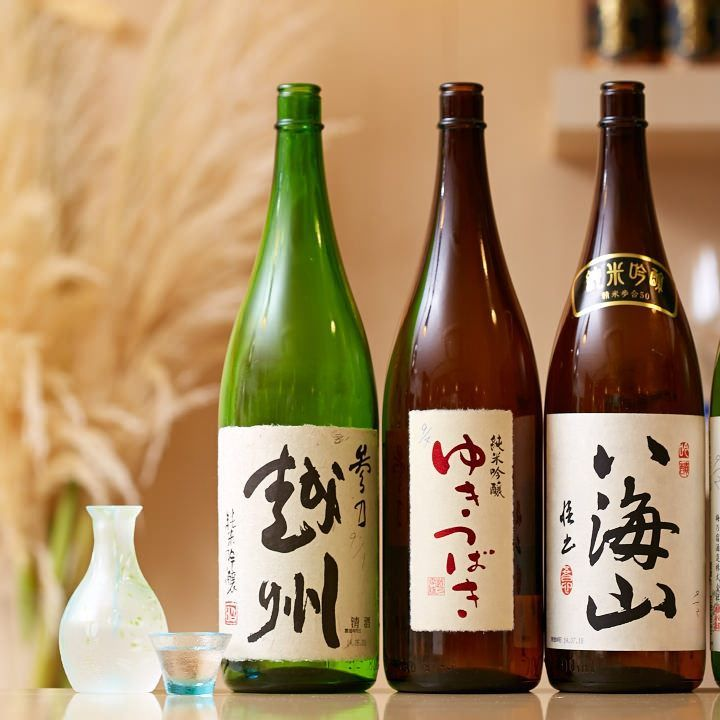 全国各地より取り寄せた日本酒