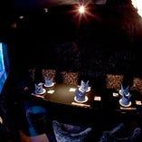 「人魚の洞窟」は、海の神殿の奥に隠れている素敵なお部屋。パーティー等にもオススメよ♪