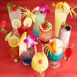 ◆古城の国限定◆特製オリジナルカクテルはもちろん、ノンアルコールも用意しております。お酒が飲めないかたも楽しんでみてください