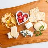王様の大好物~チーズとドライフルーツの盛り合わせ~