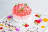 ◆特別な日に◆ 特製ケーキのご注文も承ります♪