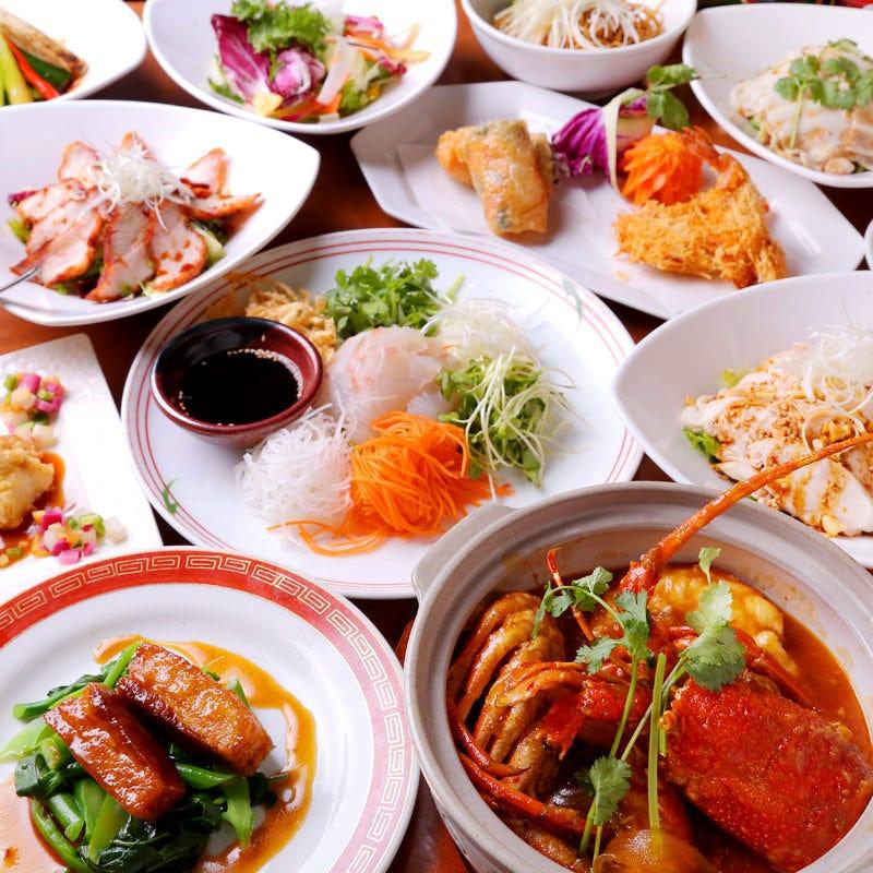 腕によりを掛けたバリエーション豊かな中華料理をお楽しみ下さい