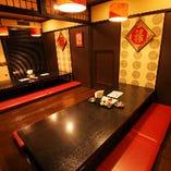掘りごたつのお座敷(20名様向け)×2部屋