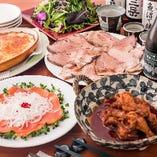1★和食に洋の要素を取り入れたお酒に合う料理 定番コースは日本酒・スパークリングワインなど飲み放題が選べる