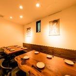 テーブル席個室(~15名様)