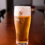 生ビールはエビスをご提供