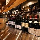 ワインセラー設置とワインカウンター増設計画進行中。