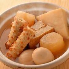 京風あっさりおでん 出し汁で雑炊も
