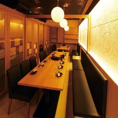 日本酒と全席個室居酒屋 銀邸とり馬 赤坂見附店  店内の画像