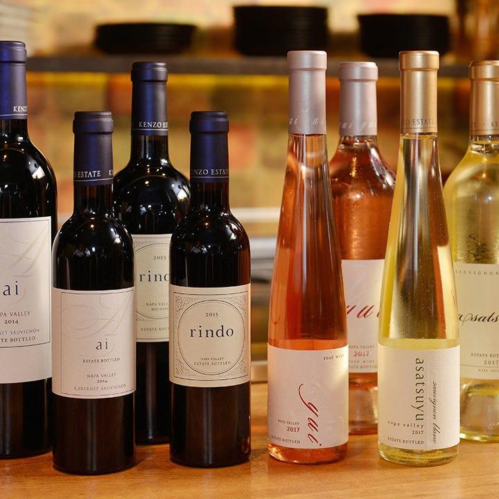 ソムリエセレクトのワインが充実
