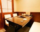 完全個室を4~20名様まで、42名様用の大広間をご提供します。