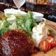 【ランチ】神戸牛の真空ハンバーグ定食