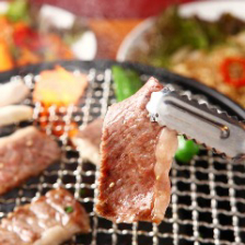 当店の焼肉は国産肉をご提供します