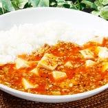 四川マーボー豆腐掛けご飯