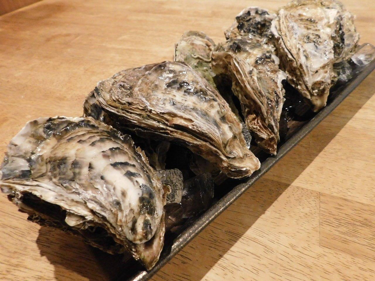 各地の生牡蠣